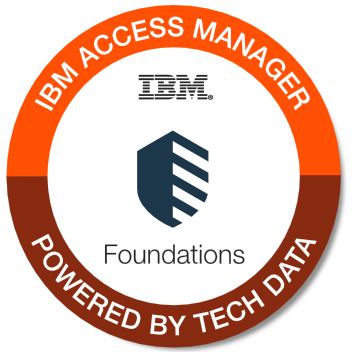 Tech Data - IBM Access Manager Platform Foundations badge