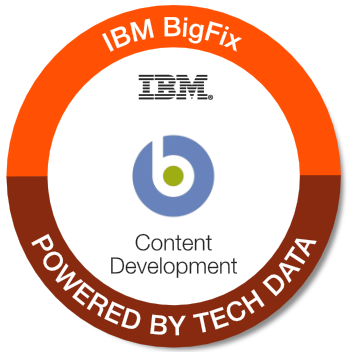 IS730G - IBM BigFix Content Development