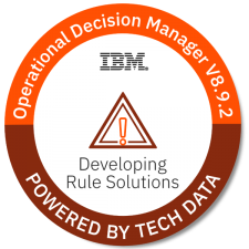 WB402G - Developing Rule Solutions in IBM Operational Decision Manager V8.9.2