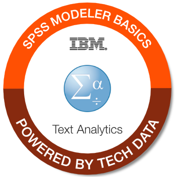 0A108 - IBM SPSS Modeler Text Analytics Basics