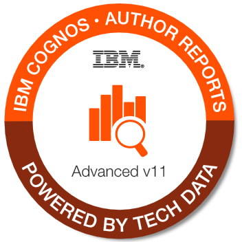 B5A59G - IBM Cognos Report Studio - Author Professional Reports Advanced